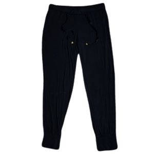 Juicy Couture Casual Pants Women Size Medium Black